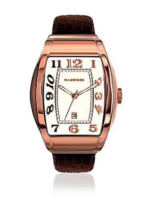 K&BROS Reloj 9424 (Rosa / Beige)