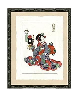 Art Source Geisha Fashion Print II, Multi