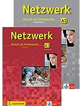 Netzwerk Deutsch als Fremdsprache A1 (Textbook + Workbook + Glossar) (with 2 CDs)