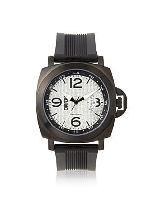 Breed Men's BRD6004 Gunar Black/Silver Stainless Steel Watch