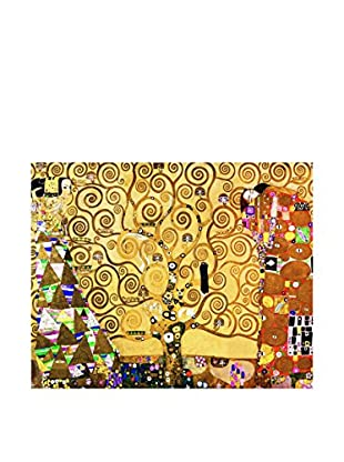 Legendarte Leinwandbild L'Albero Della Vita di Gustav Klimt