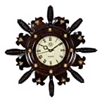 Rose Wood Wall Clock Rosewood Crafted