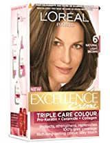 L'Oreal Paris Excellence Creme, Light Brown 06