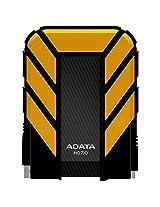 Adata Dash Drive Durable HD710 1 TB External Hard Drive Portable (Yellow)