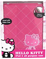 Hello Kitty iPad 2 Folio Case w/ Stand - Colors May Vary (HK-11883-2)