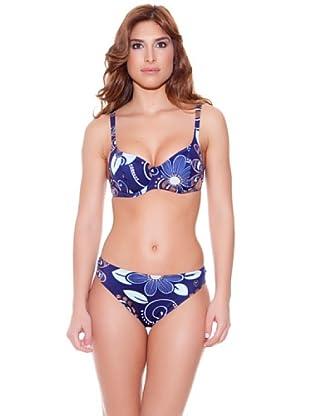 Teleno Bikini Con Aros (Marino)