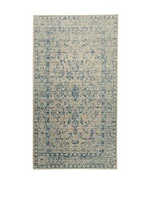ABC Tappeti Teppich Bright lehmbraun/blau 80 x 150 cm