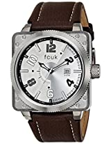 FCUK Analog White Dial Men's Watch - FC1097BSLGJ