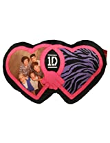 1 Direction Bed Throw Pillow Black and Zebra Print