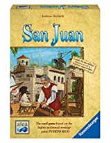 Ravensburger Board Games San Juan Card Game Second Edition