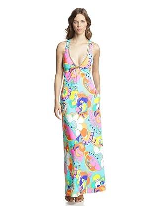 Trina Turk Women's Sea Cove Long Dress (Multi)
