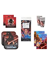 American Greetings Star Wars Episode Vii Party Bundle Pack For 16 Guests