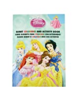 Princess Coloring Book - Disney Princesses Tri-Lingual Jumbo Coloring And Activity Book (1 Book)