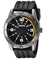 Geneva Men's FMDJM513 Analog Display Quartz Black Watch