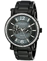 Akribos XXIV Men's Black Stainless Steel Analogue Watch - AKR465BK