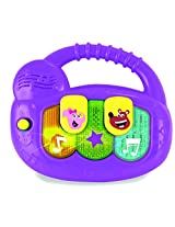 Baby Genius Mini Electronic Piano Rattle Baby Toy