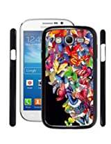 Fuson 2D Printed ButterFly Designer Back Case Cover for Samsung galaxy Grand Neo - D808
