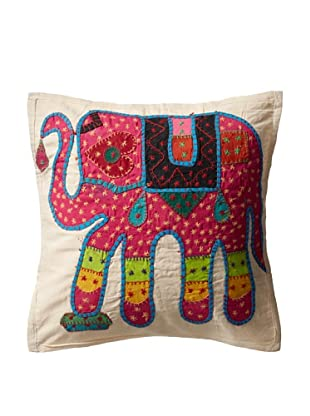 Elephant Pillow Case, Pink