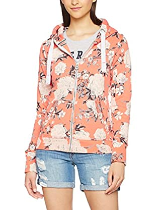 Superdry Sweatjacke Orange Label Aop Primary Zipho