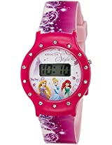 Disney Digital Multi-Colour Dial Girl's Watch - DW100479