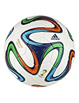 Adidas Football Brazuca Fifa World Cup Brazil 2014 Top Glider Soccer Ball Size 5