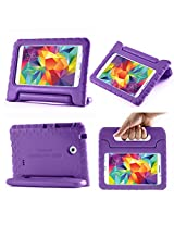 i-Blason Samsung Galaxy Tab 4 8.0 Case - ArmorBox Kido Series Light Weight Super Protection Convertible Stand Cover Case (Gaalxy Tab 4 8.0, Purple)