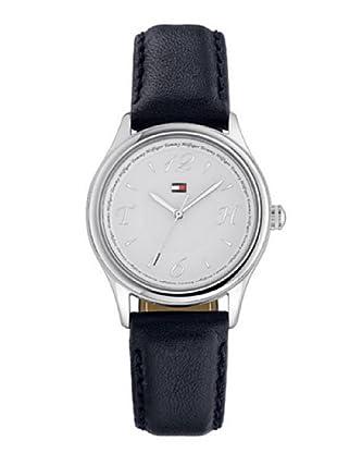Tommy Hilfiger 1780995 - Reloj Cadete Unisex correa de piel color azul marino