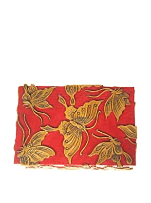 The Niger Bend Rectangular Soapstone Box with Butterfly Design