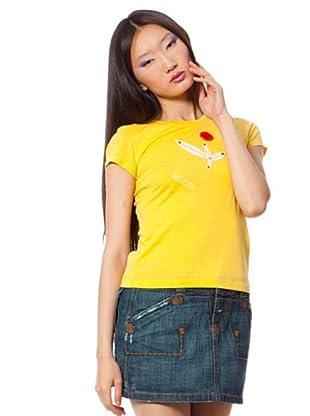 Custo Camiseta (Amarillo)