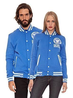 Grimey Wear Chaqueta Core Varsity (Azul)