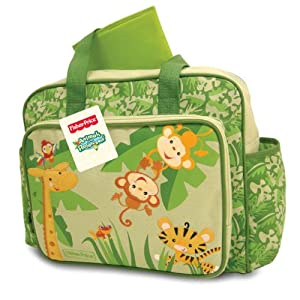 Fisher Price Rainforest diaper bag animals of the rain forest