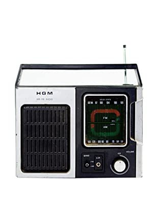 Vintage HGM Radio, Black