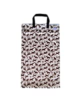 Large Hanging Wet Dry Bag for Cloth Diapers or Laundry, Dogs