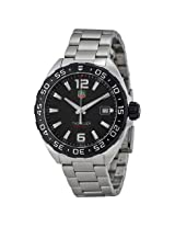 Tag Heuer Formula One Black Dial Stainless Steel Men'S Watch - Thwaz1110Ba0875