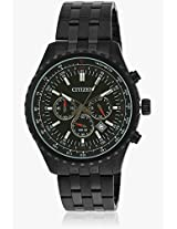 An8065-53E Black/Black Chronograph Watch CITIZEN