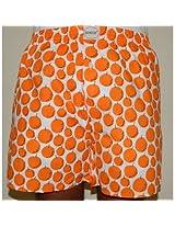 Bao Boxers Regular Fit Men's Orange Cotton Boxers