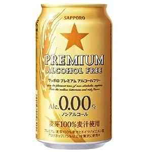 【クリックで詳細表示】サッポロ プレミアム アルコールフリー 350ml×24本: 食品・飲料・お酒 通販