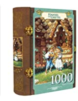 Fairy Tale Story Book Puzzle Hansel & Gretel 1000 Piece Jigsaw Puzzle