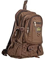 Dzyre 5 Ltrs Brown Canvas Bag