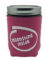 Jar-z MoonshineInsidePinkP Mason Jar Jacket, 1 pint, Pink