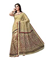 Suhanee Cotton Saree (Dulhan 1030 _Beige)