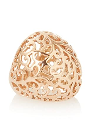 Chloe Collection By Liv Oliver Cutout Scroll Ring