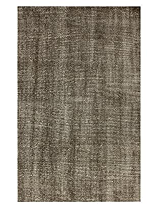 nuLOOM Lex Hand-Knotted Rug, Cocoa, 4' x 6'