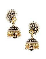 Traditional Indian Handmade Jewelry Set Glowing Jhumki Earring SetBHEA0022KA