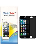 Casotec 4 -Way, 360 Degree Privacy Screen Protector for Apple iPhone 5