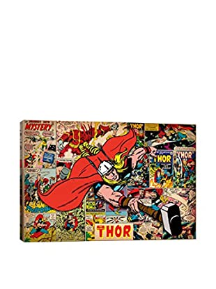 Marvel Comics Gallery Thor On Thor Covers And Panels Canvas Print