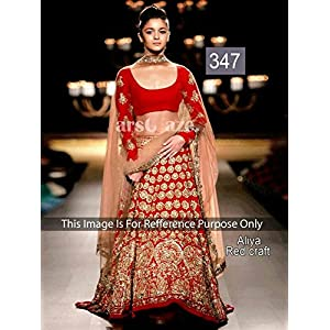 Shraddha Red Bollywood Lehenga Choli