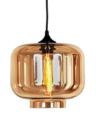 Control Brand The Bergen Tinted Pendant, Brown