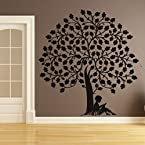 DeStudio Boy Under Tree One Wall Sticker|SIZE | SMALL | KELLY GREEN