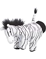 Hape Hand Glove Puppet Zebra, Multi Color